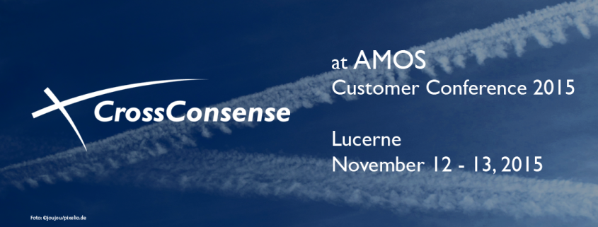 CrossConsense on AMOS Customer Conference in Lucerne