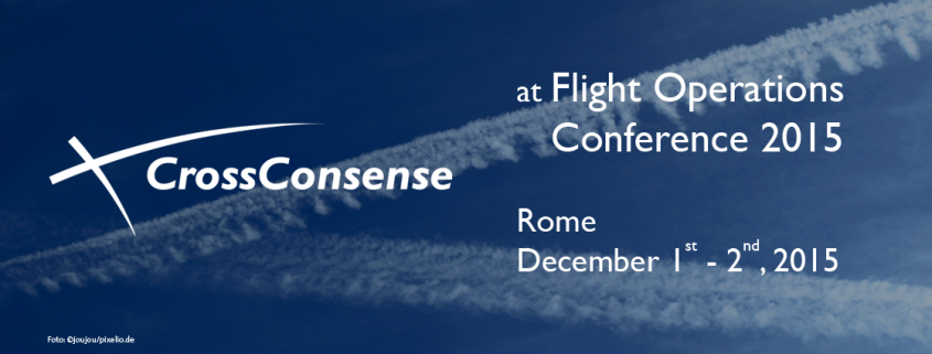 CrossConsense at Flight Operations Conference 2015