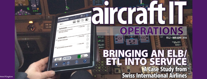 Case Study how SWISS implemented CROSSMOS published in the Aircraft IT Operations Journal, May 2016