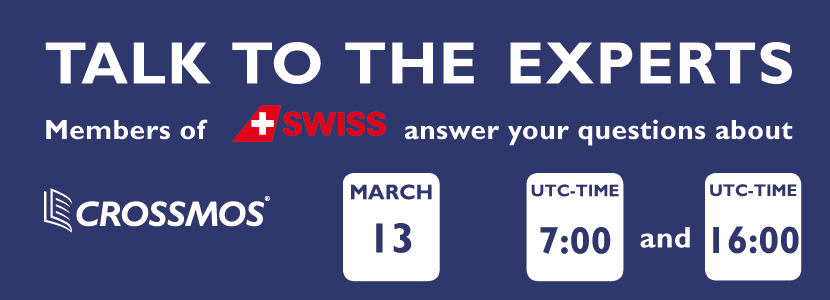 Conference call SWISS about CROSSMOS
