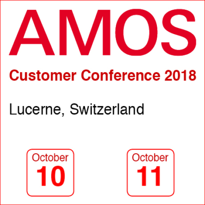 AMOS Customer Conference 2018